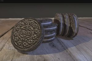 Model and Texture an Oreo Cookie with Maya e ZBrush