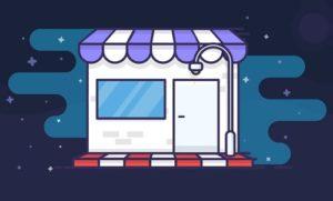 Draw a Vector Store Icon in Adobe Illustrator