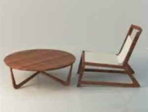 Modeling a Stylish Table and Chair in 3ds Max