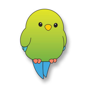 Simple Little Bird Free Vector download