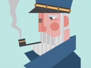 Draw a Captain Flat Design Character in Illustrator