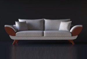 Modelling a Realistic Sofa in Cinema 4D