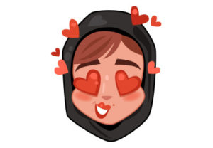 Draw a Woman Emoji Stickers in Adobe Illustrator