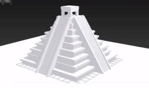 Modeling a Inca Temple in Autodesk 3ds Max