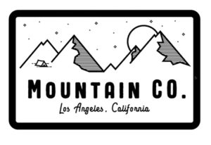 Draw a Outdoors Mountain Badge Logo in Illustrator