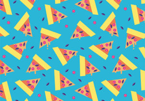 Draw a Colorful Pizza Pattern in Adobe Illustrator