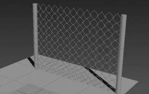 Modeling a Metallic Fence in 3ds Max