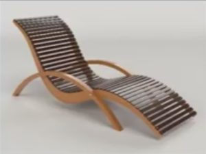 Modeling a Simple Lounge Chair in 3ds Max
