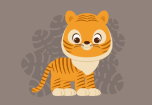 Draw a Cute Cartoon Tiger in Adobe Illustrator