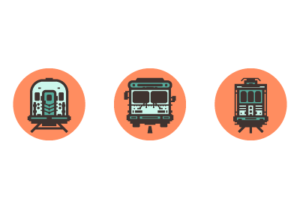 Draw a Transport Icon Pack in Adobe Illustrator
