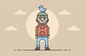 Draw a Traveling Man Character in Illustrator