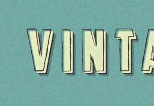 Draw a Grunge, Vintage Text Effect in Illustrator