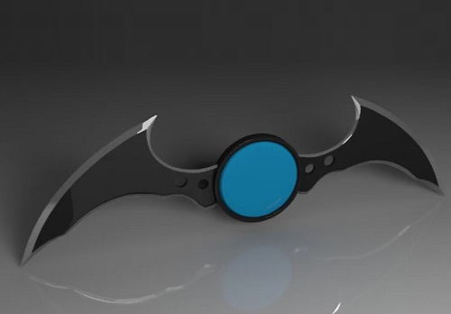 Modeling and Texturing Batarang in 3ds Max