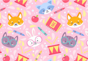 Draw a Vector Cute School Pattern in Adobe Illustrator