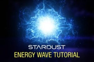 Create Stardust Energy Wave in After Effects