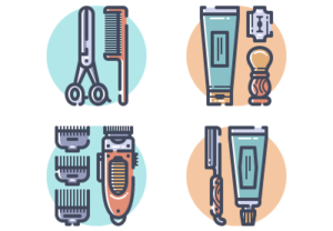 Draw a Vector Set of Barber Tools in Illustrator