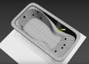 Modelling a Bathtub in Autodesk 3ds Max