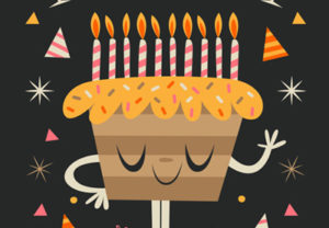 Draw a Simple Birthday Illustration in Illustrator