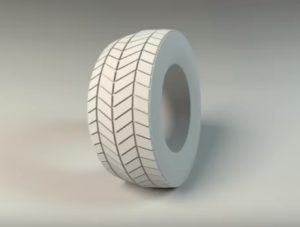 Modeling a Easy Tire in Maya 2016 for Beginner