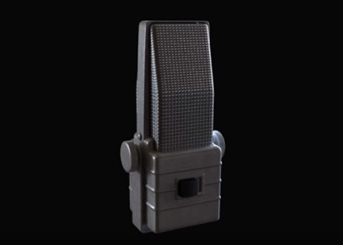 Modelling a Old Microphone in 3ds Max