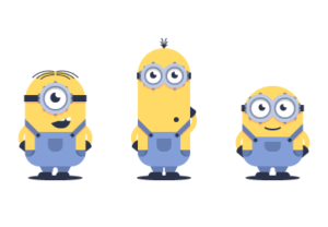 Draw a Vector Minions in Adobe Illustrator