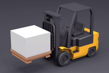 Modeling and Animating a Forklift in Cinema 4D