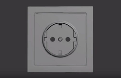 Modelling a Power Socket in 3ds Max