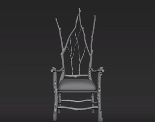 Modelling a Branch Chair in 3ds Max