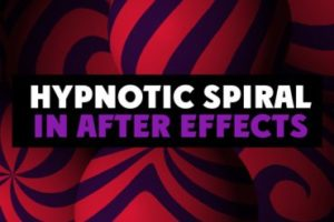 Create Hypnotic Spiral Movie Effect in After Effects