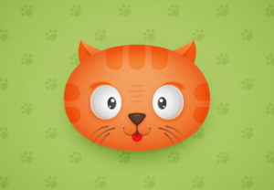 Draw a Cute Cat Character in Adobe Illustrator