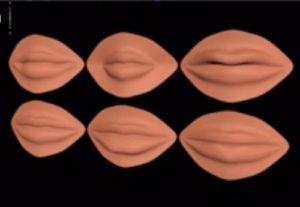 Modelling a Human Lips in Autodesk Maya