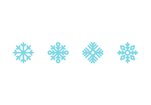 Draw a Set of Snowflake Icons in Illustrator
