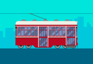 Draw a Vector Tram in Adobe Illustrator