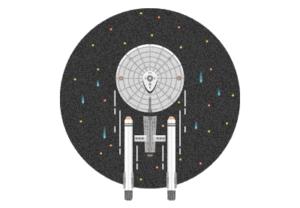 Draw the USS Enterprise From Star Trek in Illustrator