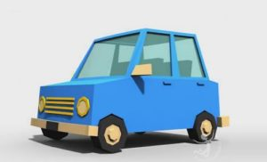Modeling Low-Poly Car in Autodesk 3ds Max