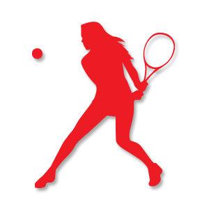 Tennis Woman Free Vector download