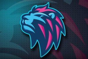 Draw a Vector Blue Lion Logo in Adobe Illustrator