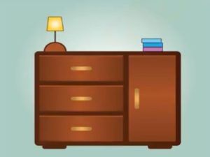 Draw a Simple Vector Furniture in Adobe Illustrator