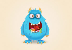 Draw a Candy Monster Character in Adobe Illustrator