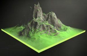 Make a Rock Mountain in Maxon Cinema 4D