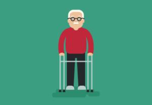 Draw Simple Elderly Man in Adobe Illustrator