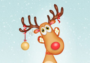 Draw a Reindeer Cartoon Character in Adobe Illustrator