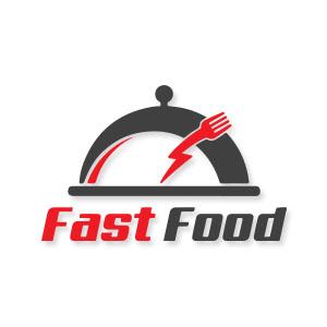 Fast Food Logo Free Vector