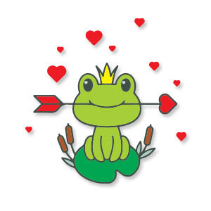Frog Princess Free Vector