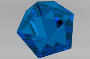 Make a Blue Crystal Material in Maxon Cinema 4D