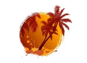 Draw a Palm Tree Logo in Adobe Illustrator