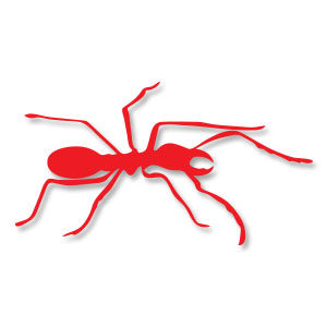 Ant Insect Silhouette Free Vector download