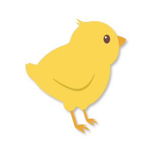 Cute Chick Free Vector download