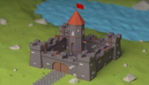 Modeling Adorable Castle in Maxon Cinema 4D