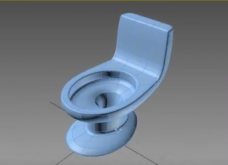 Modeling a Water Closet Basic in 3ds Max